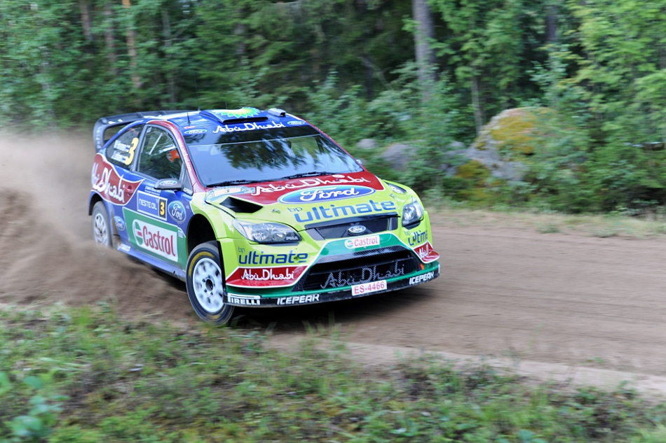 Mikko Hirvonen, Ford Focus WRC, Neste Oil Rally 2010 Urria 1