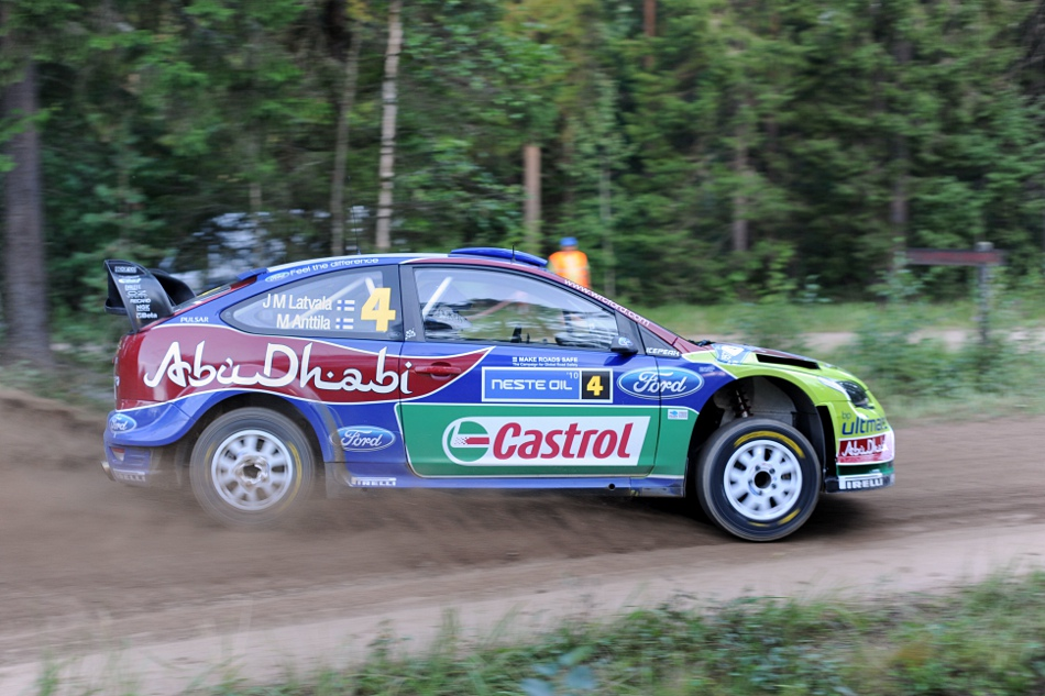 Jari-Matti Latvala, Ford Focus WRC, Neste Oil Rally 2010 Urria 1
