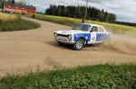 Lahti Historic Rally 2012 EK4, Antonio Sainz, Ford Escort RS2000