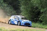 Neste Oil Rally 2012 EK 4 Urria, Craig Breen, Ford Fiesta S2000