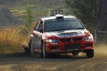 Rory Galligan, Mitsubishi Lancer, Neste Oil Rally 2006
