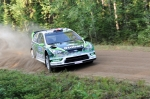 Matthew Wilson, Ford Focus WRC, Neste Oil Rally 2010 Urria 1