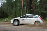 OK Auto-ralli 2012 EK8, Mattias Therman, Ford Fiesta S2000