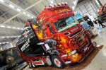 "X-treme Car Show, Tynjälän ""Hell Cat"" Scania"