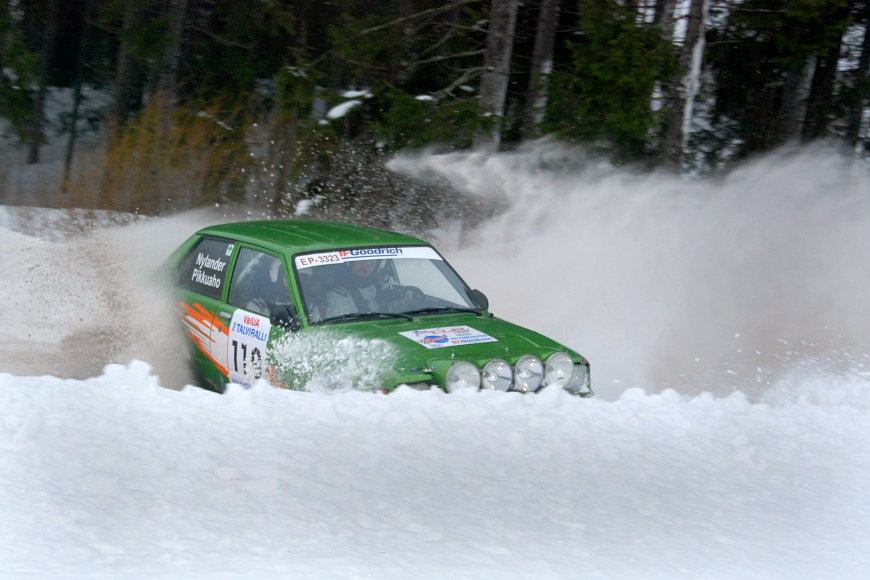 Jussi Pikkuaho, Toyota Starlet